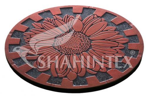 Мобильная садовая плитка-коврик SHAHINTEX