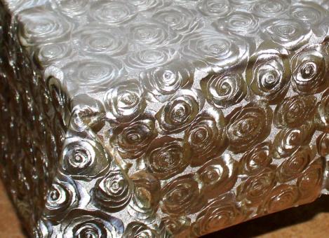 Клеенка Металлик на тканевой основе  1,37*20м мод.PW192-035