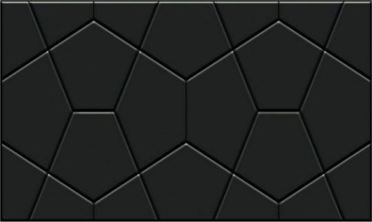 Керамическая плитка GRACIA Rialto black wall 02 v2 300х500