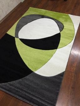 Ковер Глория 1,20*1,80 059A Light Green