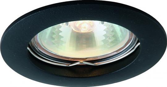 Точечный встраиваемый светильник Artelamp Basic - A2103PL-1BK