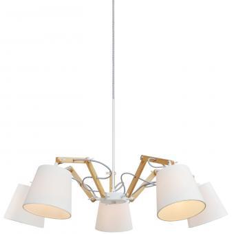 Люстра потолочная Artelamp Pinocchio - A5700LM-5WH