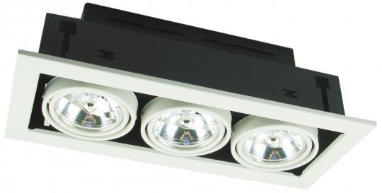 Точечный встраиваемый светильник Кардан Artelamp Cardani Medio - A5930PL-3WH
