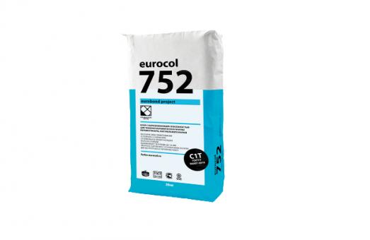 Смесь сухая клеевая 752 EUROBOND project   (25 кг )