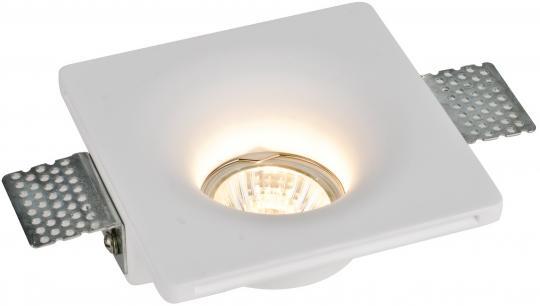 Точечный встраиваемый светильник Гипс Artelamp Invisible - A9110PL-1WH