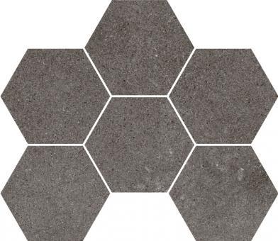 Декор Cersanit Lofthouse, темно-серый, 28,3x24,6