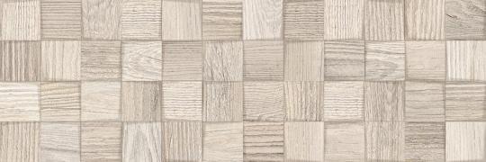 Керамическая плитка Cersanit Vita, relief, бежевый, 20x60