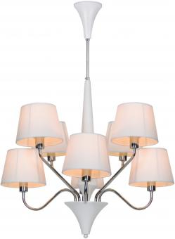 Люстра потолочная Artelamp Gracia - A1528LM-8WH