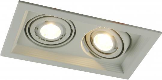 Точечный встраиваемый светильник Artelamp Canis - A6661PL-2WH