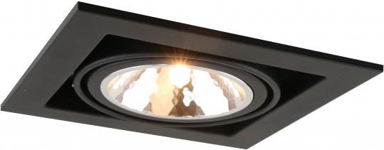 Точечный встраиваемый светильник Кардан Artelamp Cardani Semplice - A5949PL-1BK