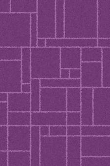 "Ковер Comfort Shaggy 2 ""Merinos(Россия)"" 2,00*3,00  S639 Purple-Lilac Овал"
